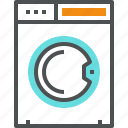 appliance, clean, home, machine, wash, washer, washing icon