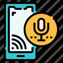 device, smart device, smartphone, voice, voice control, wireless icon