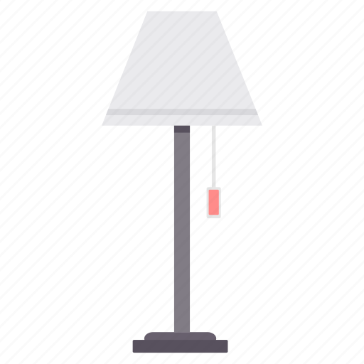decor, furniture, lamp, light, table icon