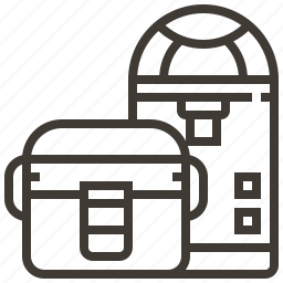 basket, containers, decoration, jars icon