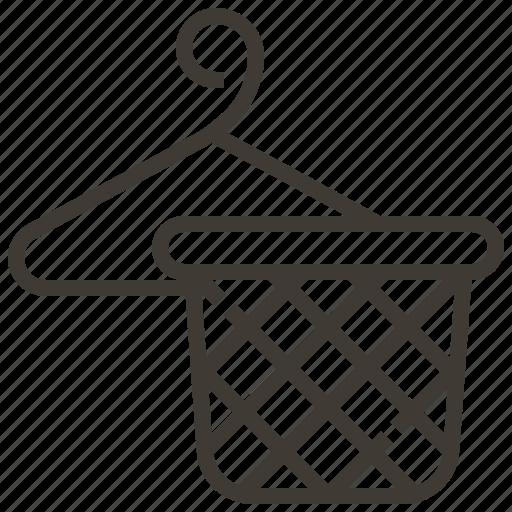 furniture, hamper, hanger, laundry icon