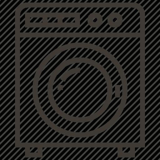 Appliance, dryer, laundry, washing machine icon - Download on Iconfinder
