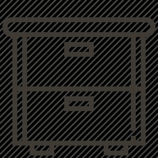 cabinet, file cabinet, furniture, organization icon