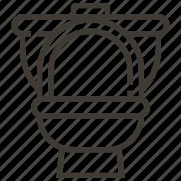bathroom, restroom, toilet, water closet icon