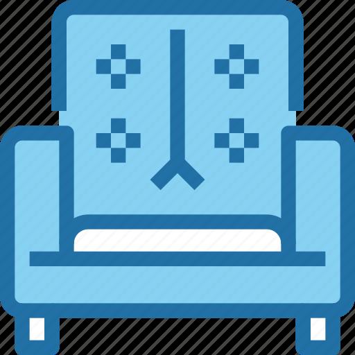 decoration, furniture, household, sofa icon