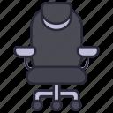 chair, desk, furniture, design, interior