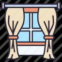 curtain, fabric, stage, interior, decoration