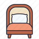 pillow, interior, bedroom, bed, home