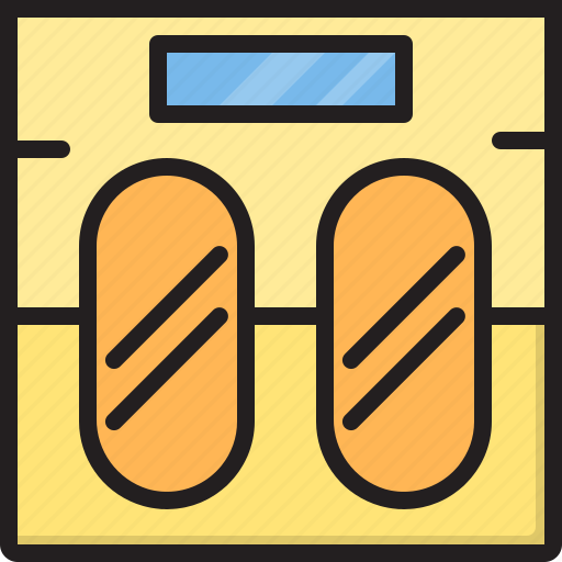 Electric, home, machine, scale, weight icon - Download on Iconfinder