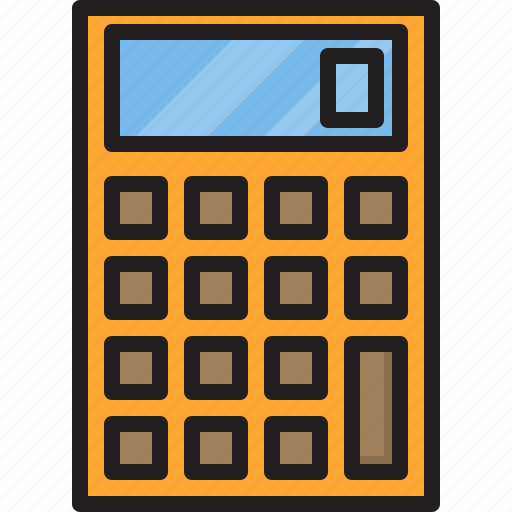 Calculator, electric, home, machine icon - Download on Iconfinder