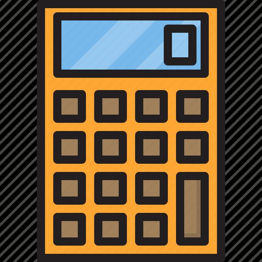 calculator, electric, home, machine icon