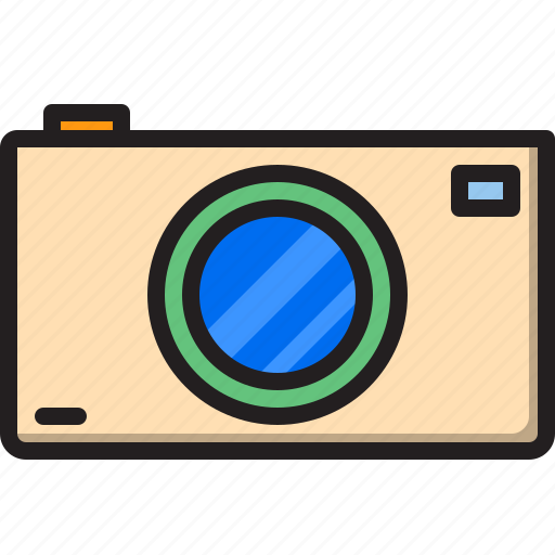 camera, electric, home, machine icon