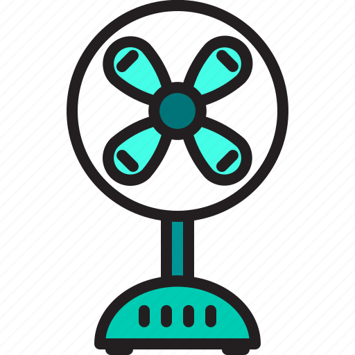 electric, fan, home, machine icon