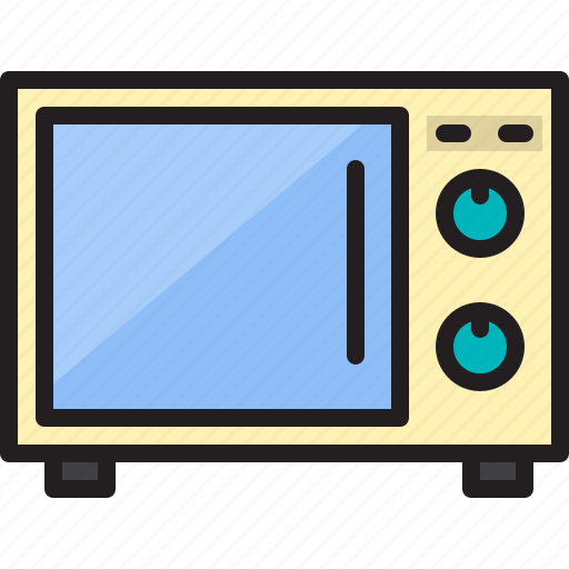 electric, home, machine, microwave icon