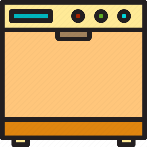 Electric, home, machine, oven icon - Download on Iconfinder