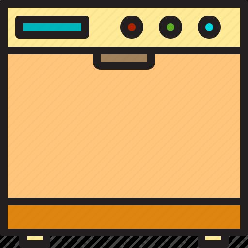 electric, home, machine, oven icon