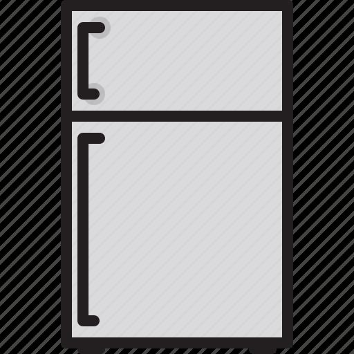 electric, home, machine, refrigerator icon
