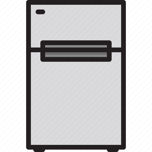 Machine, home, electric, refrigerator icon