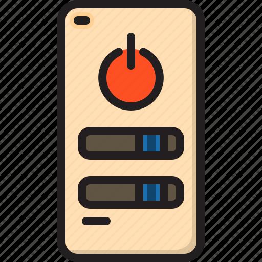 electric, home, machine, remote icon