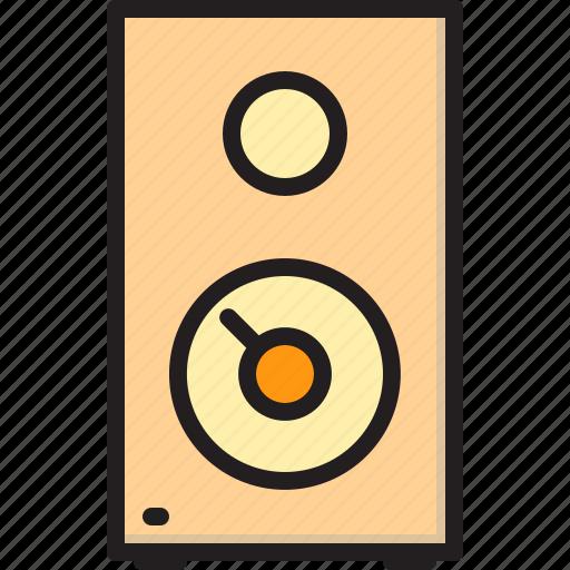 electric, home, machine, speaker icon