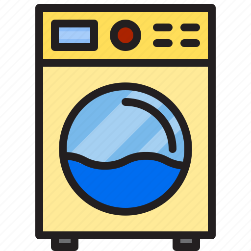 Electric, home, machine, washing icon - Download on Iconfinder