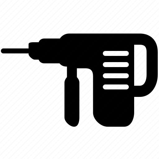 drill, equipment, fix, home, improvement icon