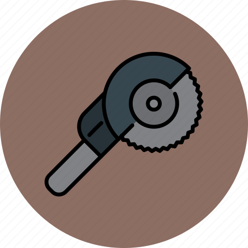 electric, equipment, home, improvement, saw icon