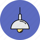 equipment, hanging, home, lamp, light, lighting icon
