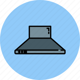 equipment, filter, home, kitchen, vent icon