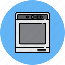 bake, equipment, home, kitchen, oven, stove icon