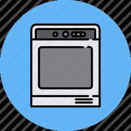 bake, equipment, home, kitchen, oven, stove icon