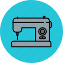 clothes, clothing, equipment, home, machine, sewing icon