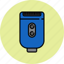bathroom, electric, equipment, grooming, home, shaver icon
