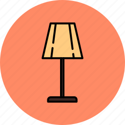 equipment, home, lamp, lighting, lights, standing icon