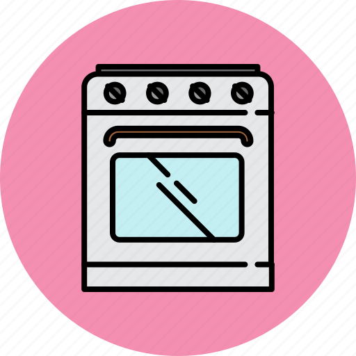 equipment, gas, home, kitchen, stove, tools icon