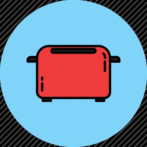 equipment, food, home, kitchen, toast, toaster icon