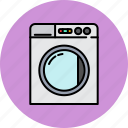 clothes, clothing, equipment, home, machine, washing icon
