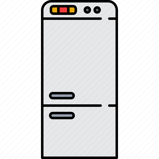 cooling, equipment, fridge, home, kitchen, storage icon