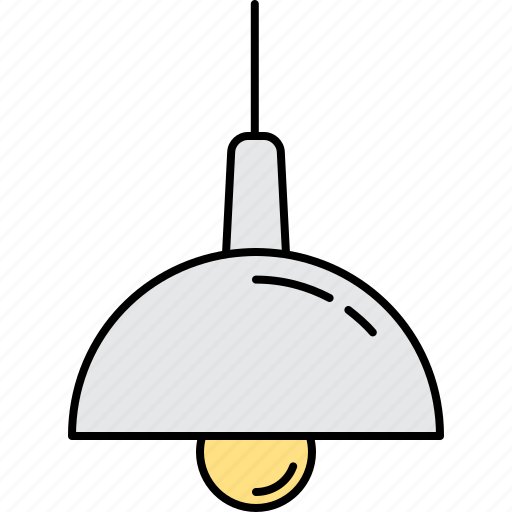 Electric, hanging, lamp, light, lighting icon | Icon ...