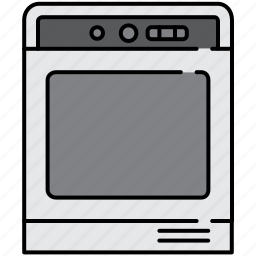 equipment, home, kitchen, machine, oven icon