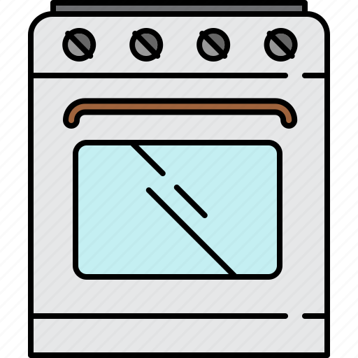 equipment, food, home, kitchen, machine, stove icon