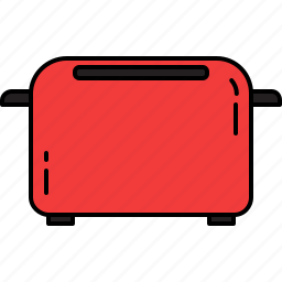 equipment, home, kitchen, machine, toast, toaster icon