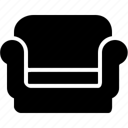 armchair, fabric, furniture, home, leather, livingroom icon