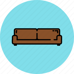 couch, fabric, furniture, home, leather, livingroom, wide icon
