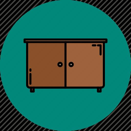 cupboard, doors, furniture, home icon