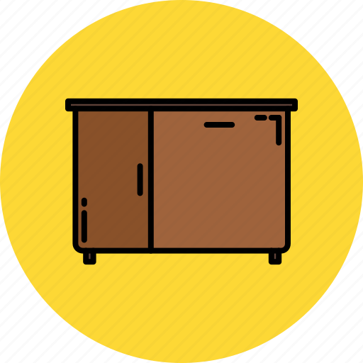 cupboard, door, furniture, home, kitchen icon