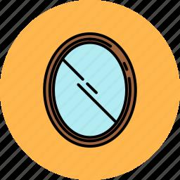frame, furniture, home, mirror icon