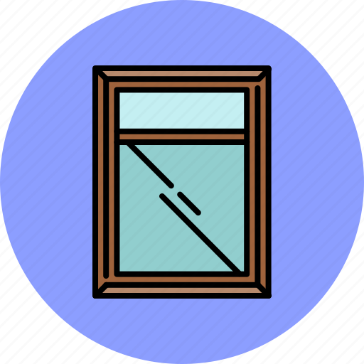 frame, furniture, glass, home, mirror icon