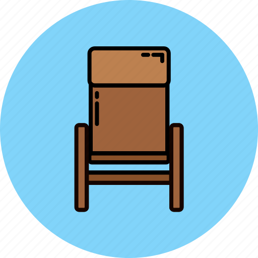 fabric, furniture, home, livingroom, recliner icon