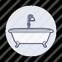 bathe, bathroom, clean, pool, sea, water icon